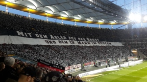 Eintracht Choreo!