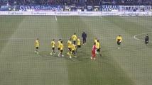 Enttäuschte Dortmunder nach dem Spiel!